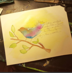 """""""Take a hold of that little song bird and take her for a ride to the top of the world..."""" - Patty Griffin"""